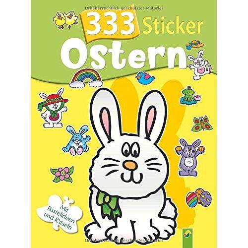 - 333 Sticker Ostern: Mit Bastelideen und Rätseln - Preis vom 07.05.2021 04:52:30 h