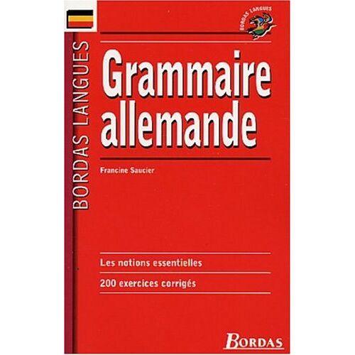 Bordas langues - Bordas langues : Grammaire allemande - Preis vom 25.01.2021 05:57:21 h