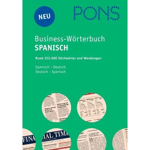 - PONS Business Handwörterbuch Spanisch. Spanisch - Deutsch / Deutsch - Spanisch - Preis vom 20.10.2020 04:55:35 h