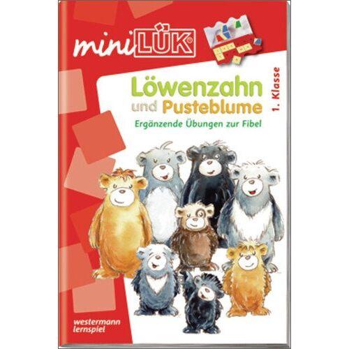 Kirstin Jebautzke - miniLÜK: Deutsch / Löwenzahn und Pusteblume: Ergänzende Übungen zur Fibel - Preis vom 08.05.2021 04:52:27 h