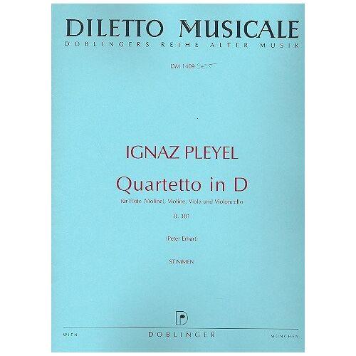 - Quartett d-Dur. Flöte, Violine, Violine, Viola, Violoncello - Preis vom 28.02.2021 06:03:40 h