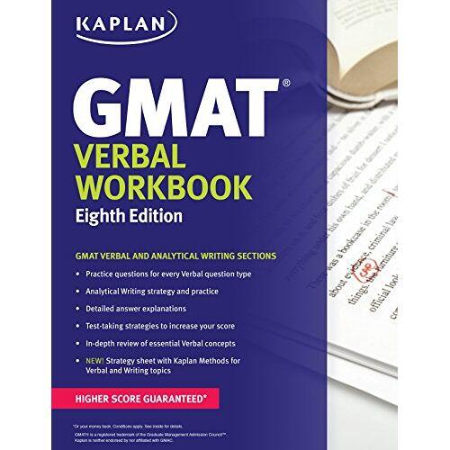Kaplan - Kaplan GMAT Verbal Workbook (Kaplan Test Prep) - Preis vom 19.10.2020 04:51:53 h