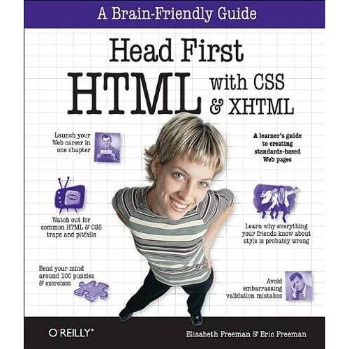 Eric Freeman - Head First HTML with CSS and XHTML - Preis vom 11.05.2021 04:49:30 h