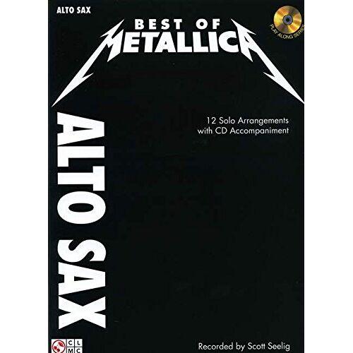- Metallica: Best Of - Alto Saxophone: Noten, CD für Alt-Saxophon - Preis vom 18.04.2021 04:52:10 h