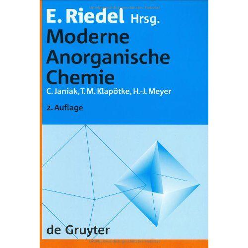 Erwin Riedel - Moderne Anorganische Chemie - Preis vom 19.10.2020 04:51:53 h