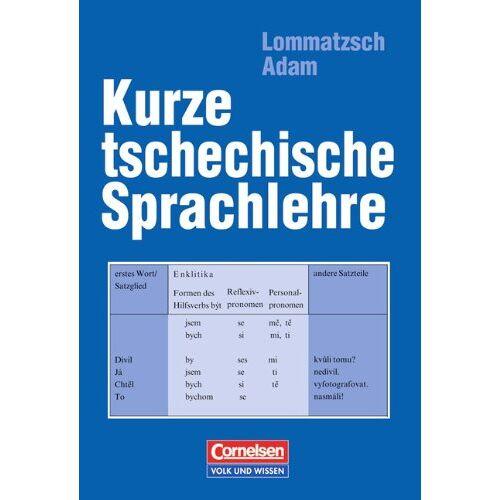 Adam, Dr. Hana - Kurze tschechische Sprachlehre - Preis vom 14.05.2021 04:51:20 h