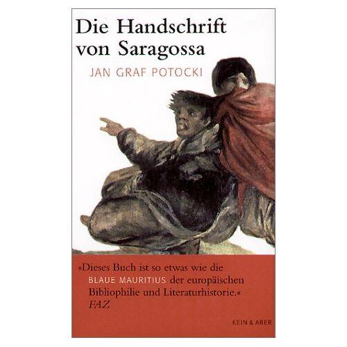 Potocki, Jan Graf - Die Handschrift von Saragossa - Preis vom 18.10.2020 04:52:00 h
