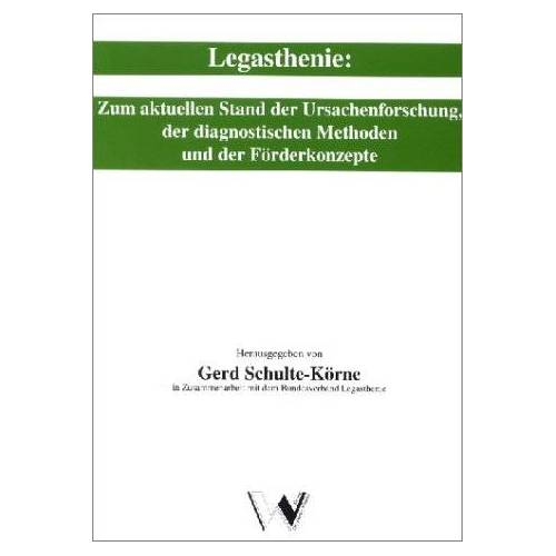 Gerd Schulte-Körne - Legasthenie - Preis vom 24.02.2021 06:00:20 h