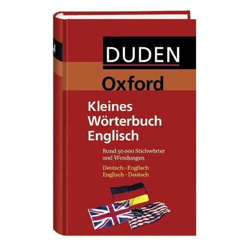 Dudenredaktion - Duden. Oxford-Duden Kleines Wörterbuch Englisch - Preis vom 05.03.2021 05:56:49 h