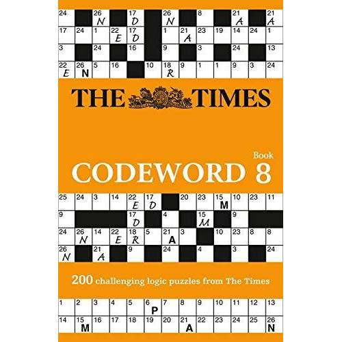 The Times Mind Games - The Times Codeword 8: 200 Cracking Logic Puzzles (The Times Puzzle Books) - Preis vom 07.05.2021 04:52:30 h