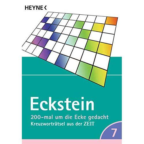 Eckstein - 200-mal um die Ecke gedacht Bd. 7: Kreuzworträtsel aus der ZEIT - Preis vom 18.04.2021 04:52:10 h