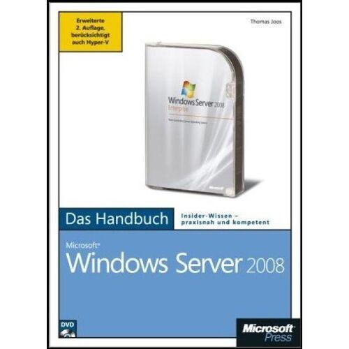 Thomas Joos - Microsoft Windows Server 2008 - Das Handbuch, m. DVD-ROM - Preis vom 15.06.2019 04:47:26 h