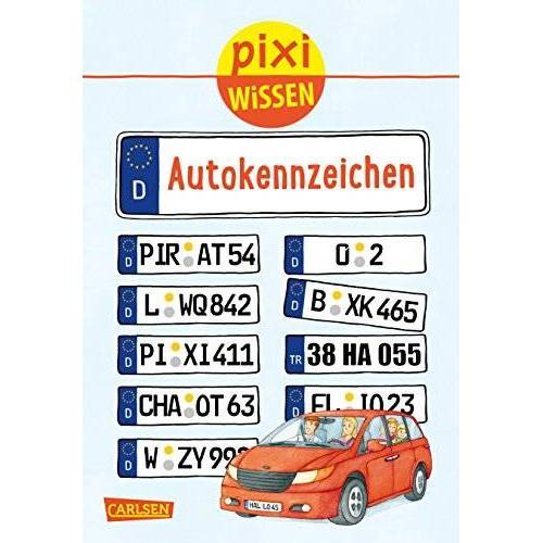 Christine Stahr - Pixi Wissen 102: Autokennzeichen - Preis vom 22.01.2020 06:01:29 h