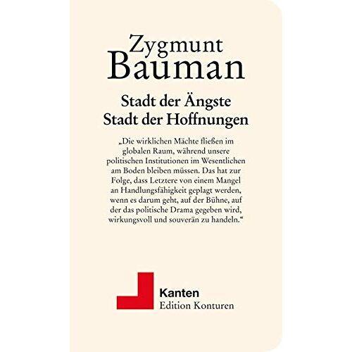 Zygmunt Bauman - Stadt der Ängste, Stadt der Hoffnungen - Preis vom 14.04.2021 04:53:30 h