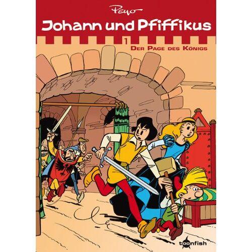 Peyo - Johann & Pfiffikus 01. Der Page des Königs: Sammelband - Preis vom 10.09.2020 04:46:56 h
