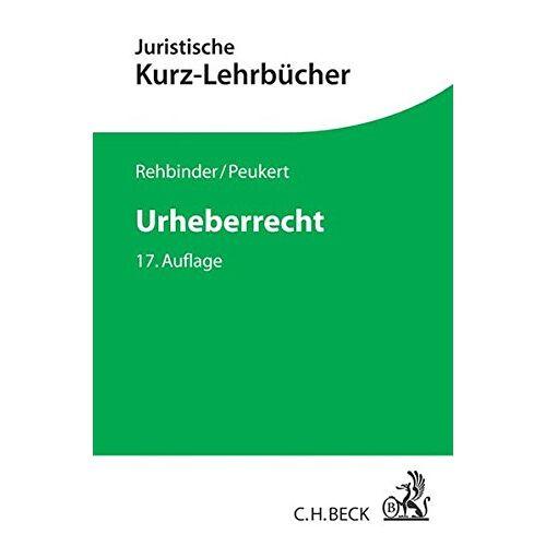 Manfred Rehbinder - Urheberrecht - Preis vom 07.03.2021 06:00:26 h