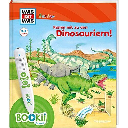 Bärbel Oftring - BOOKii® WAS IST WAS Junior Komm mit zu den Dinosauriern! (BOOKii / Antippen, Spielen, Lernen) - Preis vom 14.05.2021 04:51:20 h