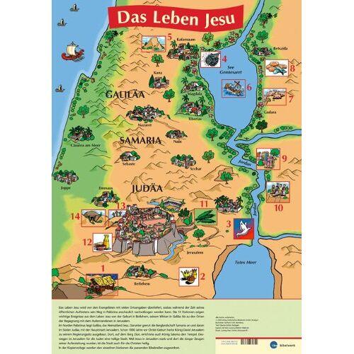 - Das Leben Jesu - Plakat - Preis vom 20.10.2020 04:55:35 h