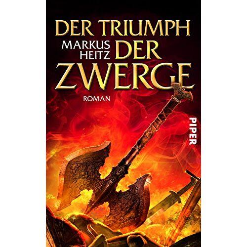 Markus Heitz - Der Triumph der Zwerge: Roman (Die Zwerge, Band 5) - Preis vom 03.04.2020 04:57:06 h