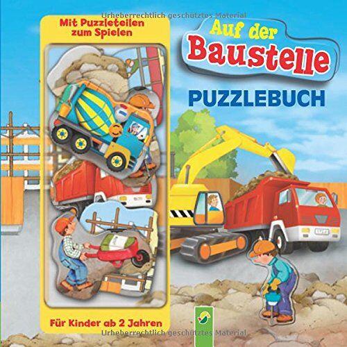 Paola Migliari - Puzzlebuch - Auf der Baustelle: Mit 10 Puzzleteilen zum Spielen - Preis vom 01.12.2019 05:56:03 h