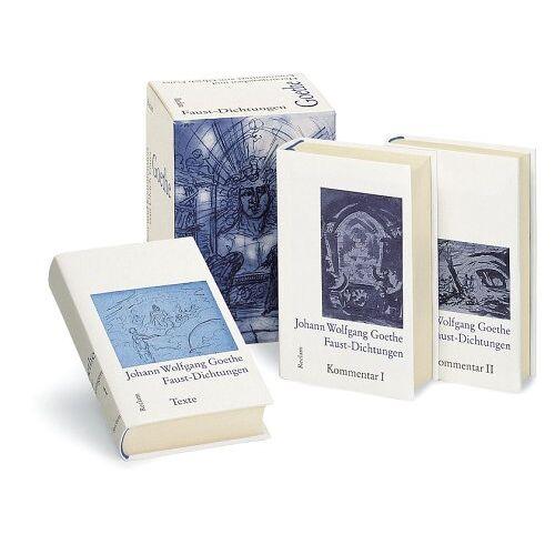 Goethe, Johann W. von - Faust-Dichtungen, 3 Bde. - Preis vom 06.05.2021 04:54:26 h