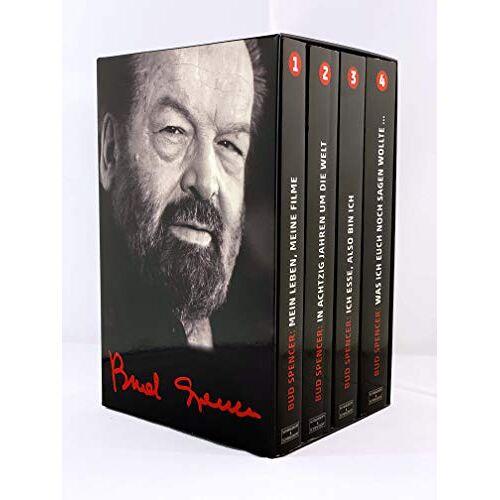 Bud Spencer - BUD SPENCER: Alle vier Bud-Spencer-Paperbacks im Schuber - Preis vom 20.10.2020 04:55:35 h