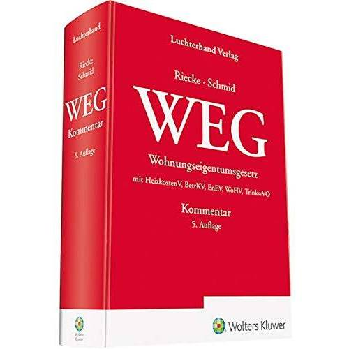 Olaf Riecke - WEG Kommentar - Preis vom 28.02.2021 06:03:40 h