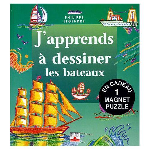 Philippe Legendre - Les bateaux : Avec un magnet puzzle - Preis vom 15.01.2021 06:07:28 h