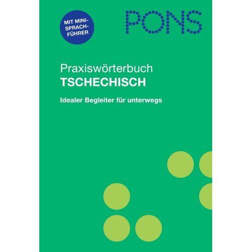 - PONS Praxiswörterbuch Tschechisch: Tschechisch-Deutsch/Deutsch-Tschechisch. Ca. 28 000 Stichwörter und Wendungen. Mit integriertem Reisesprachführer - Preis vom 14.05.2021 04:51:20 h