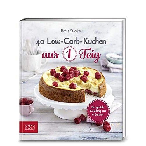 Beate Strecker - 40 Low-Carb-Kuchen aus 1 Teig: Der geniale Grundteig aus 6 Zutaten - Preis vom 28.02.2021 06:03:40 h
