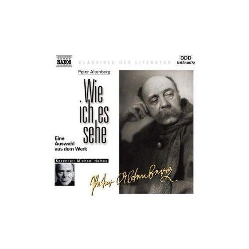 Peter Altenberg - Wie ich es sehe. CD. - Preis vom 15.01.2021 06:07:28 h