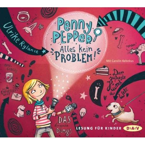 Ulrike Rylance - Penny Pepper - Alles kein Problem!: Lesung mit Carolin Kebekus (1 CD) - Preis vom 07.05.2021 04:52:30 h