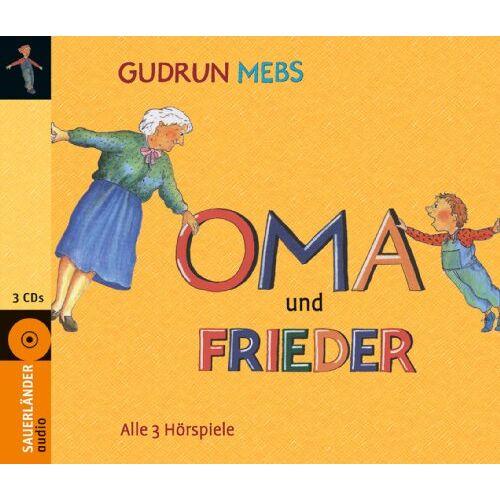 Gudrun Mebs - Oma und Frieder: 3 Hörspiele: Oma!, schreit der Frieder / Und wieder schreit der Frieder: Oma! / Oma und Frieder - jetzt schreien sie wieder! - Preis vom 09.05.2021 04:52:39 h