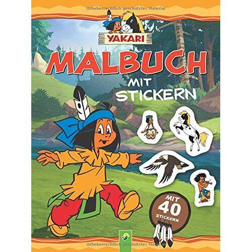 - Yakari - Malbuch mit 40 Stickern - Preis vom 20.09.2019 05:33:19 h