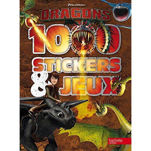 - 1000 stickers & jeux Dragons - Preis vom 21.10.2020 04:49:09 h