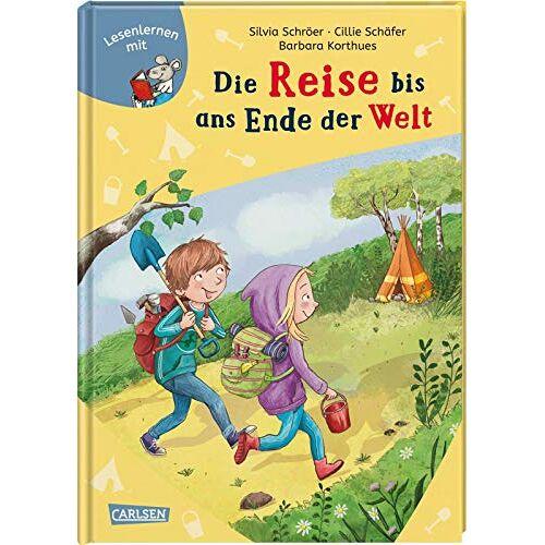 Silvia Schröer - LESEMAUS: Die Reise bis ans Ende der Welt - Preis vom 21.10.2020 04:49:09 h