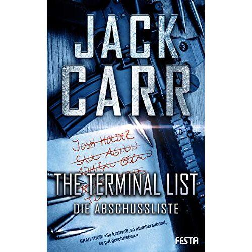 Jack Carr - THE TERMINAL LIST - Die Abschussliste - Preis vom 11.05.2021 04:49:30 h
