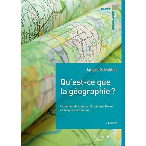 - Qu'est-ce que la géographie ? (Carré Géographie) - Preis vom 28.02.2021 06:03:40 h