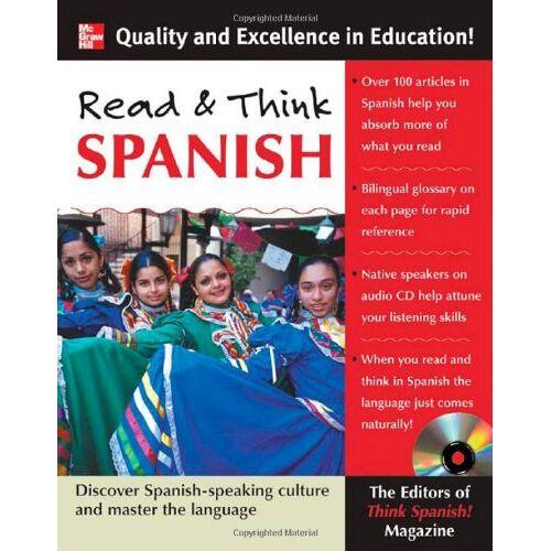 Think Spanish! Magazine - Read and Think Spanish - Preis vom 19.10.2020 04:51:53 h