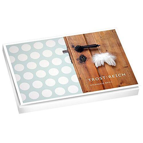 - TROST:REICH - Postkartenbuch - Preis vom 11.04.2021 04:47:53 h