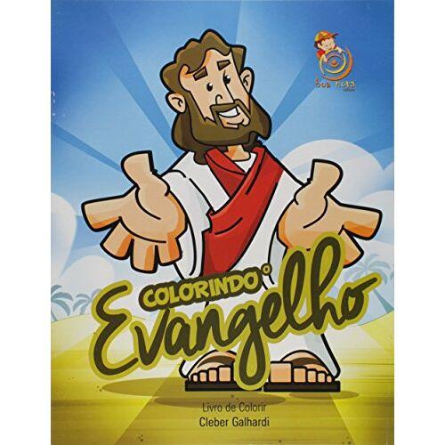 Cléber Galhardi - Colorindo o Evangelho - Livro de Colorir - Preis vom 22.01.2021 05:57:24 h