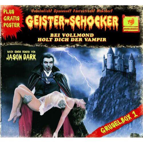 Geister-Schocker - Geister-Schocker Box 1 (4cds) - Preis vom 27.02.2021 06:04:24 h