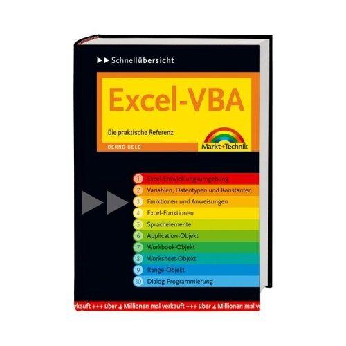Bernd Held - Excel-VBA Schnellübersicht: Die praktische Referenz (Schnellübersichten) - Preis vom 17.01.2021 06:05:38 h