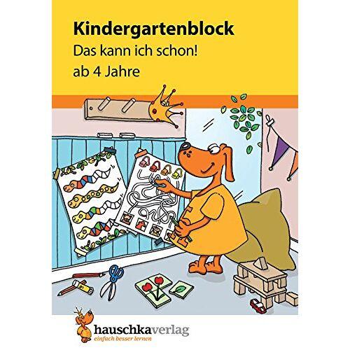 Ulrike Maier - Kindergartenblock - Das kann ich schon! ab 4 Jahre (Übungsmaterial für Kindergarten und Vorschule, Band 620) - Preis vom 15.11.2019 05:57:18 h