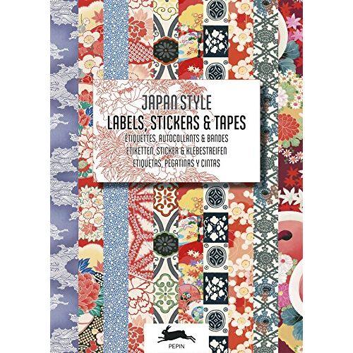 Roojen, Pepin van - Japan Style - Labels, Stickers and Tapes: Label and Sticker Books (Label & Sticker Books) - Preis vom 05.09.2020 04:49:05 h