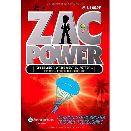 Larry, H. I. - Zac Power, Band 07: Mission Geheimkamera und Mission Teufelsmine - Preis vom 15.05.2021 04:43:31 h
