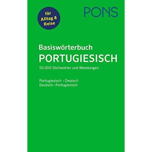 - PONS Basiswörterbuch Portugiesisch: Portugiesisch-Deutsch / Deutsch-Portugiesisch - Preis vom 02.12.2020 06:00:01 h