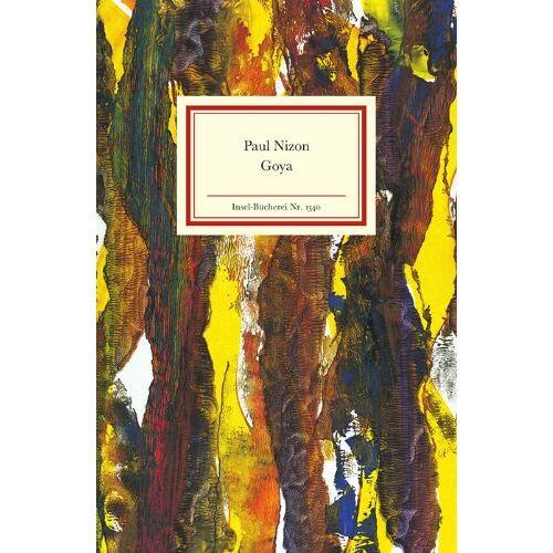 Paul Nizon - Goya (Insel Bücherei) - Preis vom 06.09.2020 04:54:28 h