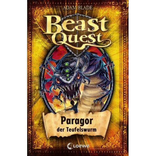 Adam Blade - Beast Quest 29 . Paragor, der Teufelswurm - Preis vom 05.05.2021 04:54:13 h