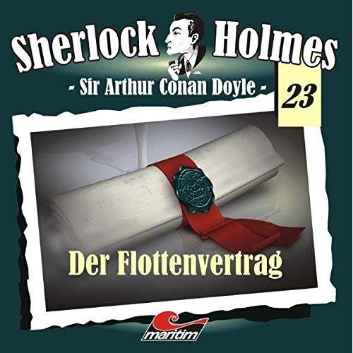 Doyle, Arthur C - Sherlock Holmes 23: Der Flottenvertrag - Preis vom 04.09.2020 04:54:27 h